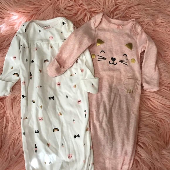 Carter's Other - Carter's kitty sleeper nightgown